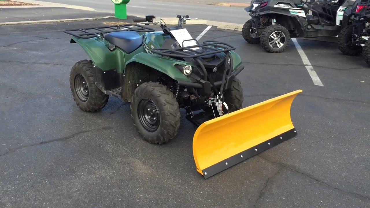 Yamaha Kodiak Snow Plow