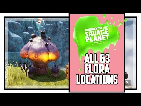 Journey To The Savage Planet All Flora Locations Botanist Trophy