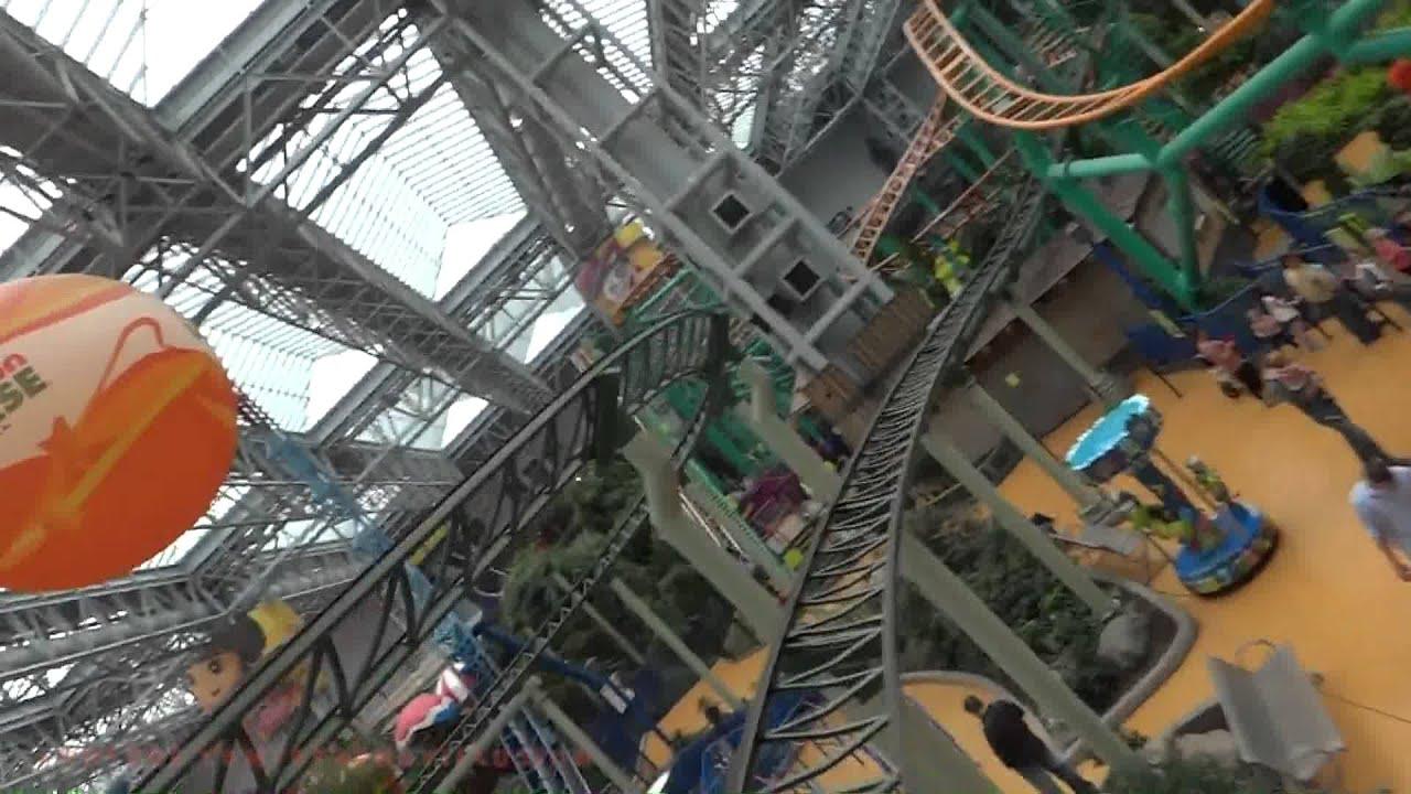 Orange Park Mall >> Pepsi Orange Streak On-ride Front Seat (HD POV) Nickelodeon Universe - YouTube