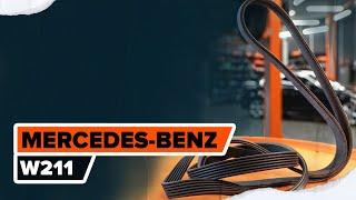 Mantenimiento Mercedes W211 - vídeo guía
