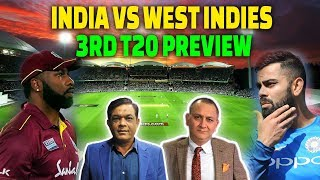 INDIA vs WEST INDIES | 3rd T20 Preview | Caught Behind