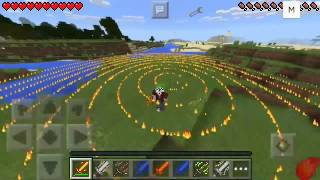 MOD Elemental Sword V.4 Minecraft PE 0.13.1
