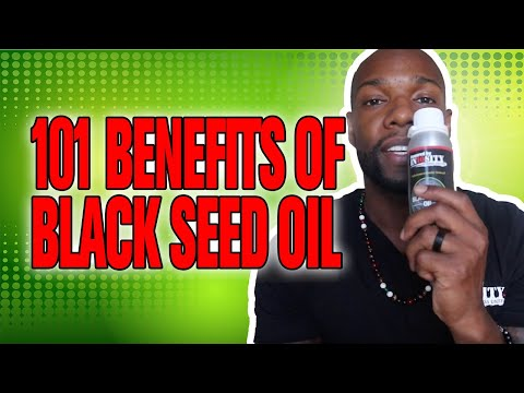 OH MY GOD! 101 BENEFITS FROM BLACK SEED OIL!  **MUST WATCH**