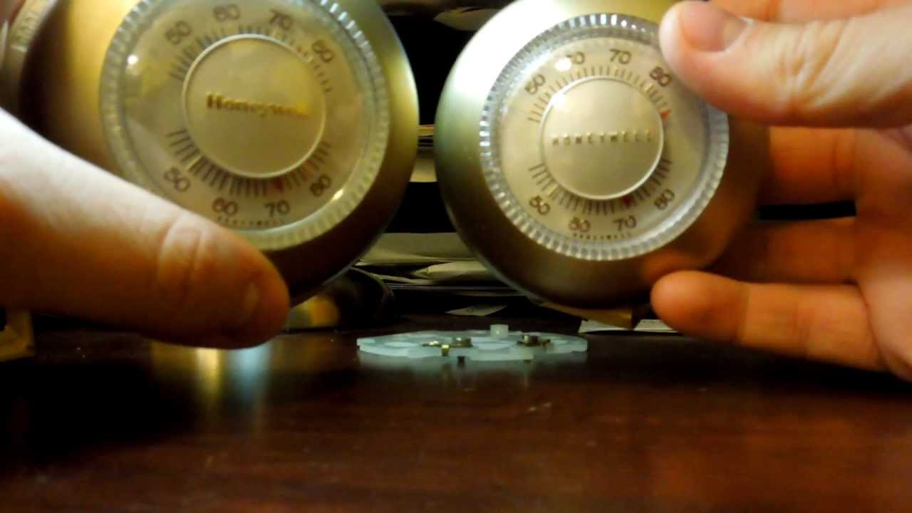 Honeywell T87F: A Look At The Design Variations Over The ...