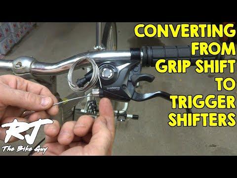 3x7 Sunrace Grip Shifters 21 speed bike twist shifter set fits Shimano