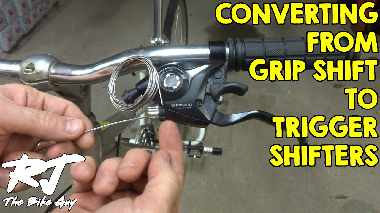 Convert From Grip Shift To Trigger Shifters Youtube