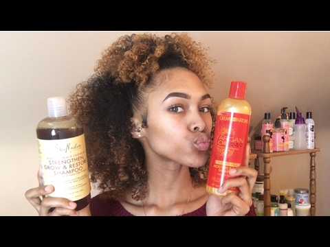 The BEST MOISTURIZING SHAMPOOS For Natural Curly Hair | NO ...