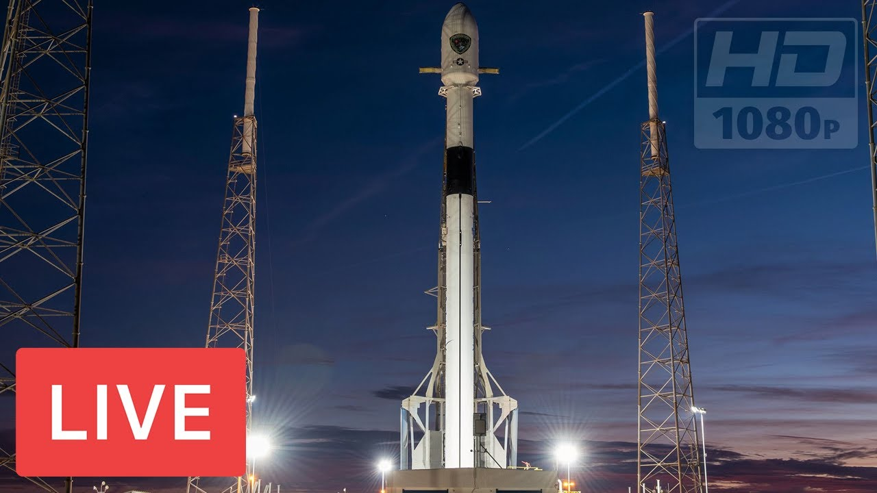 WATCH: SpaceX to Launch Falcon 9 Block 5 Rocket #SpaceIL Lunar Lander  @8:45pm EST