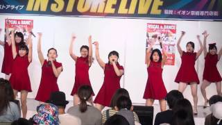 pinky right (ピンキーライト)「Sexy Young Beautiful (Happiness)」2016/06/05 キャレス インストアライブ