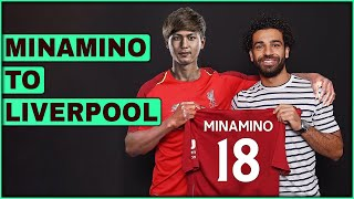 Transfer Analysis TAKUMI MINAMINO to LIVERPOOL  | Liverpool TRANSFER NEWS