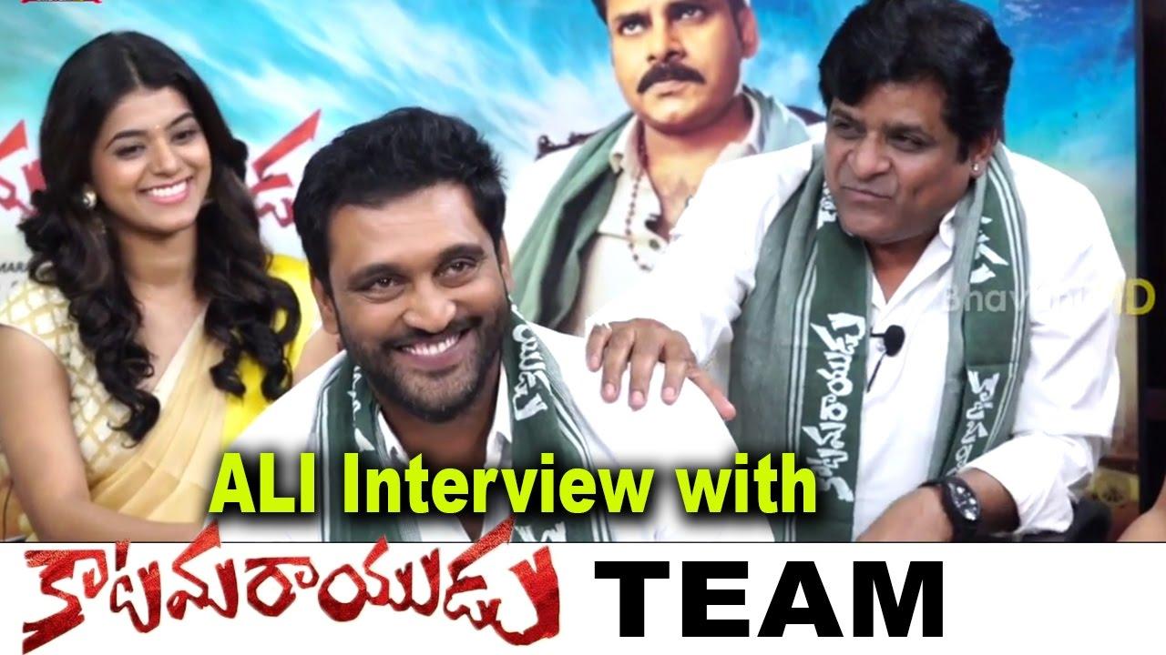 ali special interview katamarayudu movie team second ali special interview katamarayudu movie team second interview pawan kalyan