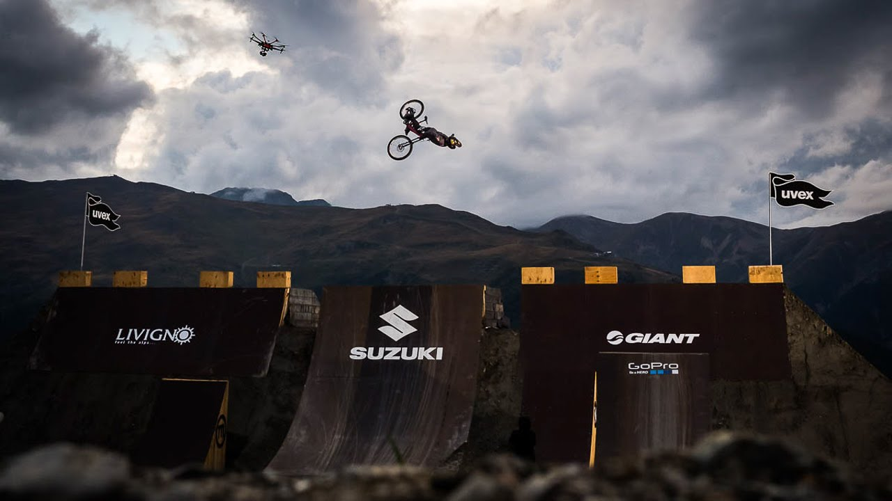 Nicholi Rogatkin Cork 720 Downhill Bike Suzuki Nine Knights
