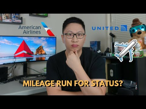 Are Mileage Runs Worth It For Basic Airline Status?
