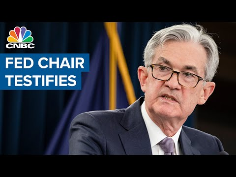 Fed Chair Jerome Powell delivers testimony to Congress