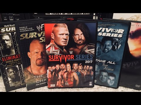 WWE Survivor Series PPV DVD Cover Ranking