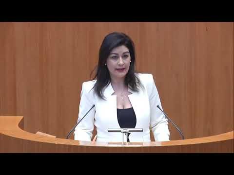 Intervención de Marta Sanz (Ciudadanos) en el pleno de las Cortes del 05-02-2020
