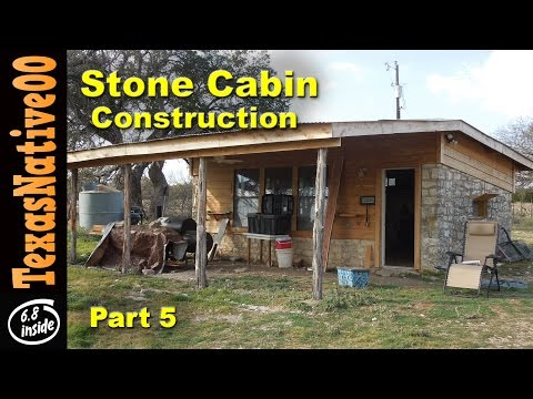 Stone Cabin Construction (Part 5)