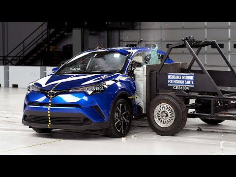 2018 Toyota C-HR Side IIHS Crash Test