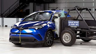 2018 Toyota C-HR 31 mph side IIHS crash test Overall evaluation: Go...