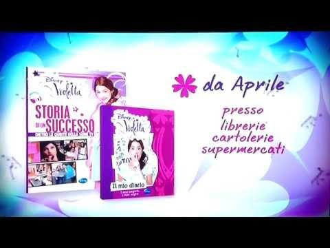 Violetta: Libri - Il mio diario e Storia di un successo - Da Aprile (HD)