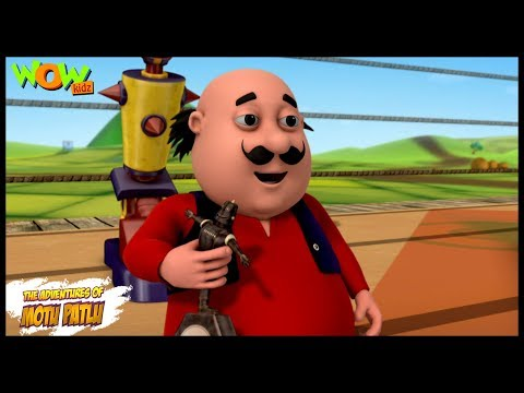 Robot Of Furfuri Nagar - Motu Patlu in Hindi - ENGLISH, SPANISH & FRENCH SUBTITLES!