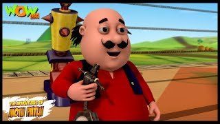 Motu Patlu Cartoons In Hindi | Animated-Serie | Roboter Furfuri Nagar | Wow Kidz