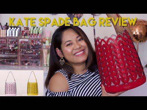 Bag Review | Kate Spade Dorie Medium Bucket Bag
