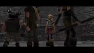 How To Train Your Dragon - Dragon Training [FULL SCENE]