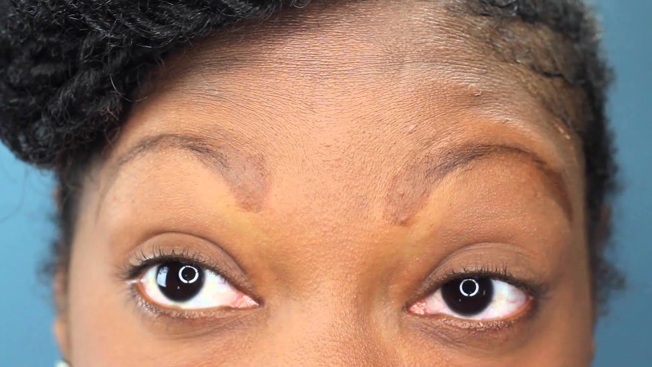 How I Do My Eyebrows   First Time LOL ♥ - YouTube