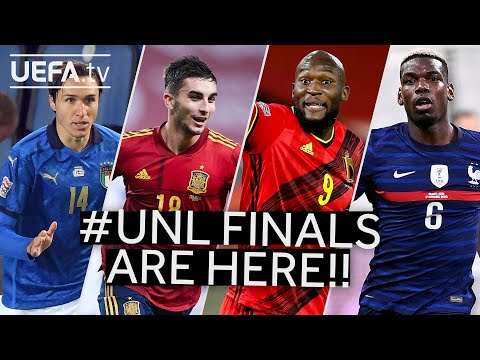 #UNL FINALS | ITALY, SPAIN, BELGIUM & FRANCE's Road to the Final Four!