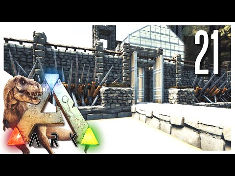 ARK: Survival Evolved - The Wall Defense! S2E21 (ARK Gameplay)