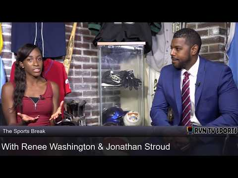 The Sports Break with Renee Washington on the recent NCAA Scandals