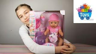 Кукла беби бон распаковка. Baby born doll,Беби бон видео 3.(Беби бон видео. Кукла беби бон распаковка. Baby born doll https://youtu.be/u-TkFX7sCLw Кукла беби бон с аксессуарами для малень..., 2016-01-10T19:20:37.000Z)