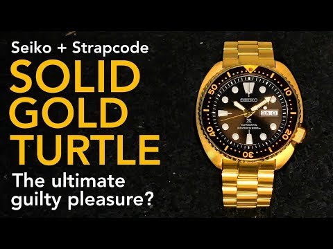 SOLID GOLD SEIKO TURTLE - The Ultimate Guilty Pleasure Watch?