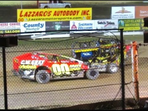 Sportsman Main Event - Albany Saratoga Speedway July 29, 2016
