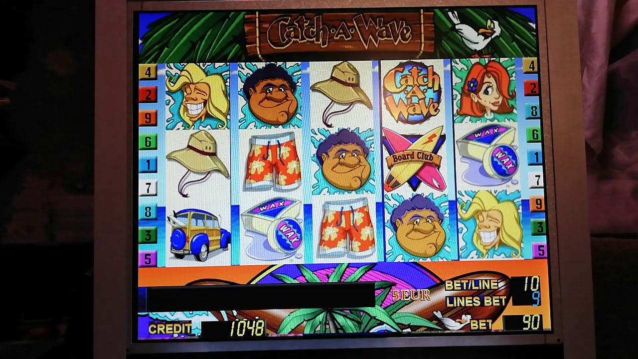 Catch A Wave Slot Machine Free Play
