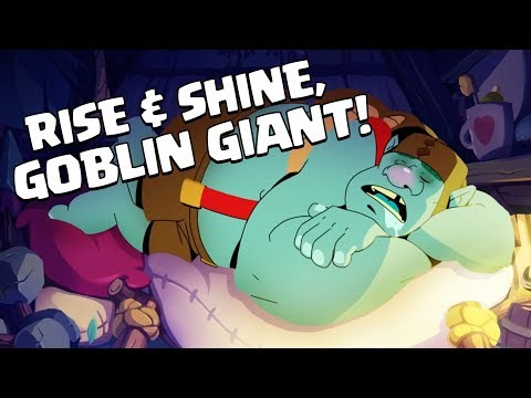 Clash Royale: Introducing Goblin Giant! (New Card!)