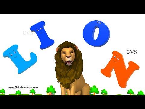 Learn Spelling | ABC Songs for Children | Alphabet Songs | 3D Animation ABC Nursery Rhymes 4