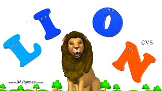 Learn Spelling | ABC Songs for Children | Alphabet Songs | 3D Animation ABC Nursery Rhymes 4 thumbnail