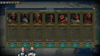Video Civilization VI News - Rise and Fall, Governors In-Depth download MP3, 3GP, MP4, WEBM, AVI, FLV Maret 2018