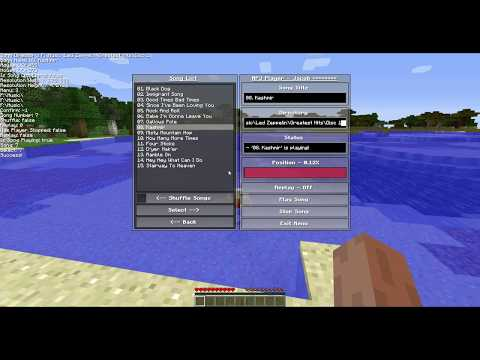 Minecraft Music Player V2