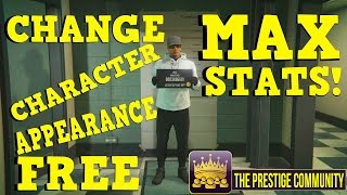 GTA 5 Online: *FREE* ''MAX CHARACTER STATS GLITCH'' 1.37! *SOLO* Change CHARACTER APPEARANCE Glitch!