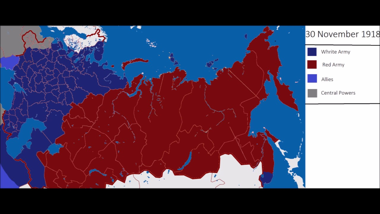 who won the russian civil war