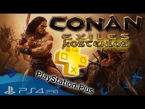 Conan Exiles Kostenlos PS Plus 💰- Let´s Play Conan Exiles Playstation 4 Pro