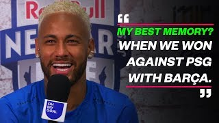 Neymar reveals his best memory in football is Barcelona's win over PSG (6-1) - Oh My Goal
