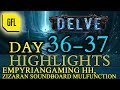 Path of Exile 3.4: Delve DAY # 36-37 Highlights Empyrian HH, Zizaran soundboard malfunction