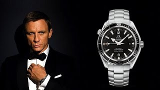 Is Omega the favourite watch of Daniel Craig? | 007 | 2017
