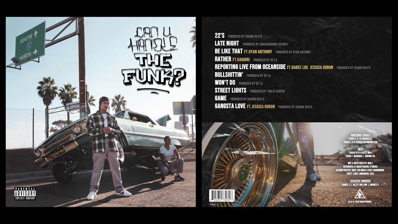 Dezzy Hollow - Can U Handle The Funk? (Full Album)