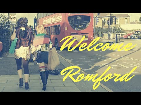Welcome Romford - London United Kingdom UK - 2018