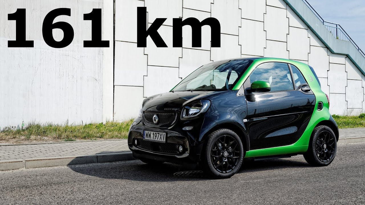 Smart Fortwo Electric Drive 161 Km Tested Range 1001cars